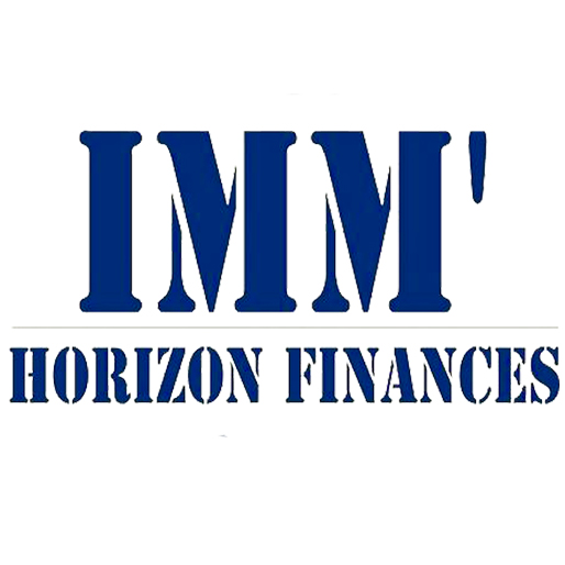qui, Logo, Imm'horizon finances, simulation gratuite
